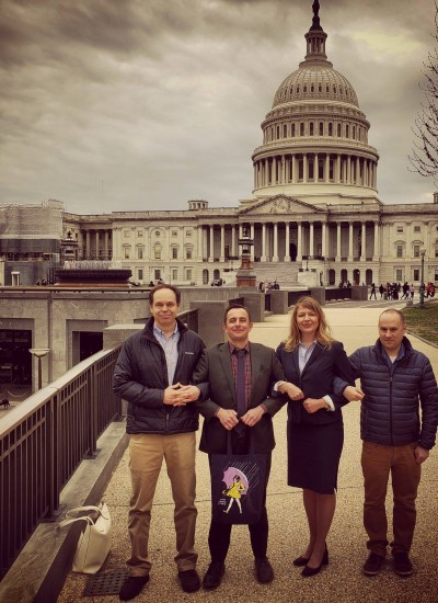 TPI Advocates Outside Nation's Capitol